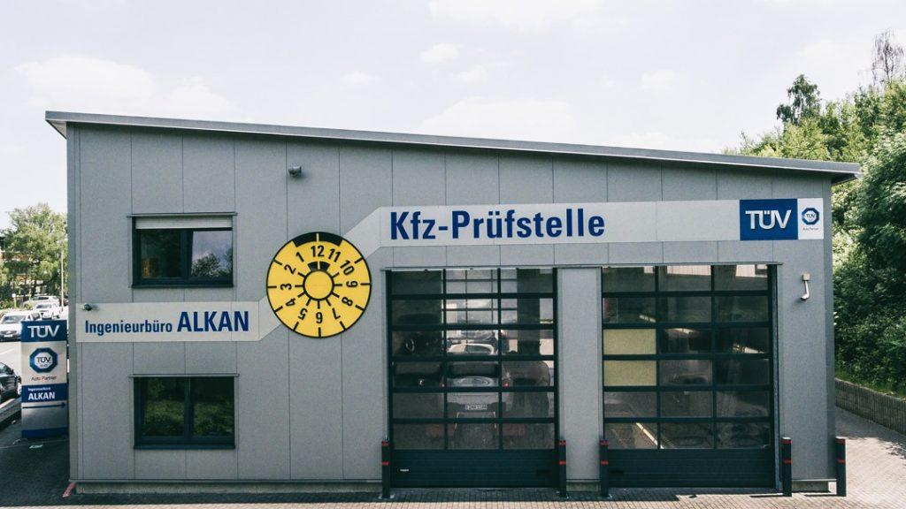 Foto der Prüfstelle des Ingenieurbüro Alkan für Kfz Fahrzeugbewertungen